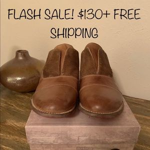 FLASH SALE!! $130+ FR SHIP! Bed Stu Rust Loafers!